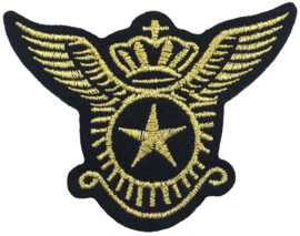 GOLD EMBLEM ARMY PATCH