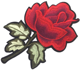 ROTE ROSE PATCH