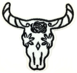 WITTE BUFFEL PATCH