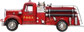 FIRETRUCK IRON ON TRANSFER