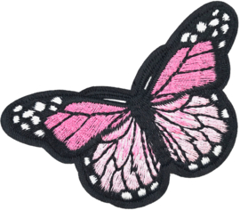 PINK BUTTERFLY M PATCH