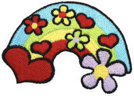 RAINBOW FLOWERS PATCH