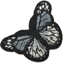 GREY BUTTERFLY S PATCH