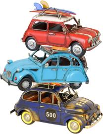 GESTAPELDE AUTO'S STRIJKAPPLICATIE