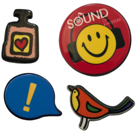 PARFÜM SMILEY PIN SET