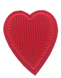 HEART RED PATCH