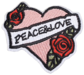 PEACE & LOVE PATCH