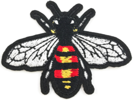 BEE RED YELLOW PATCH
