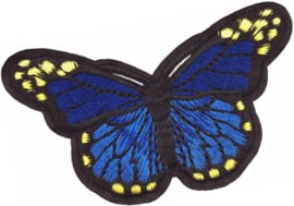 BLUE BUTTERLFY M PATCH