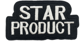 ZWARTE STAR PRODUCT PATCH