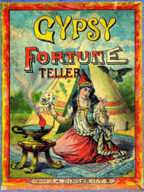 FORTUNE TELLER IRON ON TRANSFER