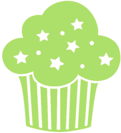 CUPCAKE STRIJKAPPLICATIE