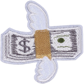 VLIEGEND DOLLAR BILJET PATCH