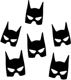 BATMAN MIX STRIJKAPPLICATIE