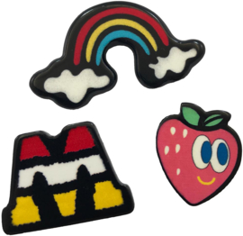 RAINBOW M PIN SET