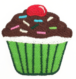 CUPCAKE GREEN PATCH