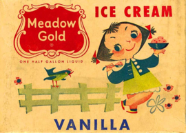 ICE CREAM GIRL IRON ON TRANSFER