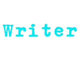 WRITER LETTER STRIJKAPPLICATIE