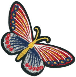 MULTI COLOR VLINDER PATCH