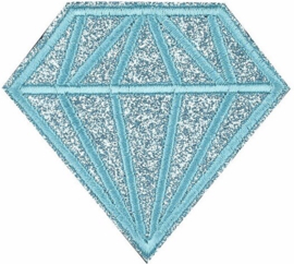 TURQUOISE DIAMANT PATCH