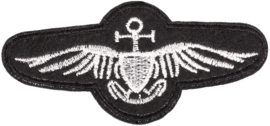 AVIATOR ZILVER PATCH