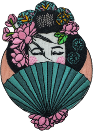 CHINESE VROUW PATCH