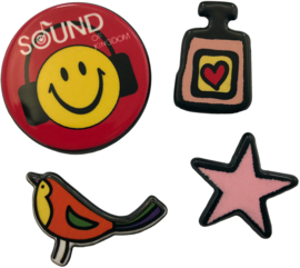 SMILEY PARFÜM PIN SET