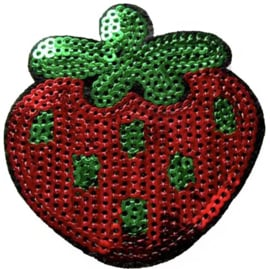 STRAWBERRY SEQUINS PATCH