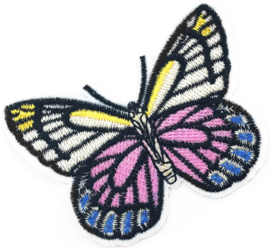 PINK/BLUE BUTTERFLY PATCH