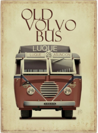 OLD VOLVO BUS STRIJKAPPLICATIE