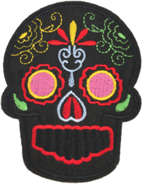 SKULL BLACK PATCH
