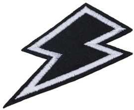 BLITZ WEIß PATCH