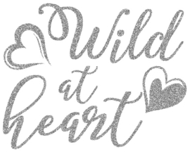 WILD AT HEART STRIJKAPPLICATIE