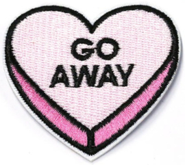 CANDY HEART PINK PATCH