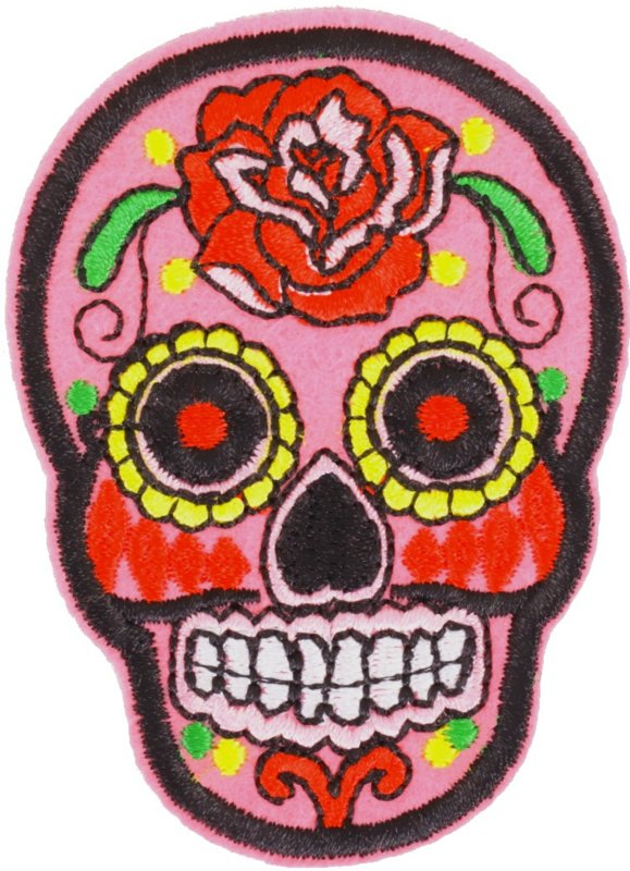 SKULL PINK PATCH