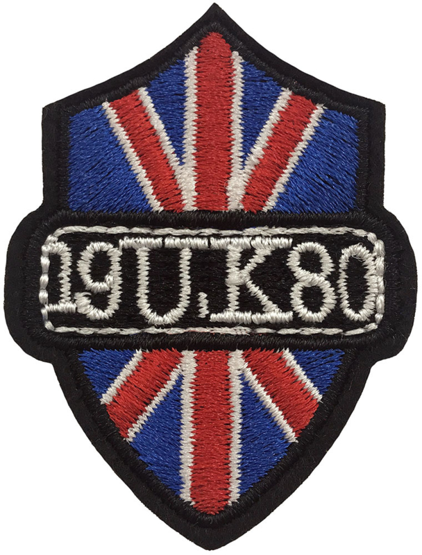UK 1980 PATCH