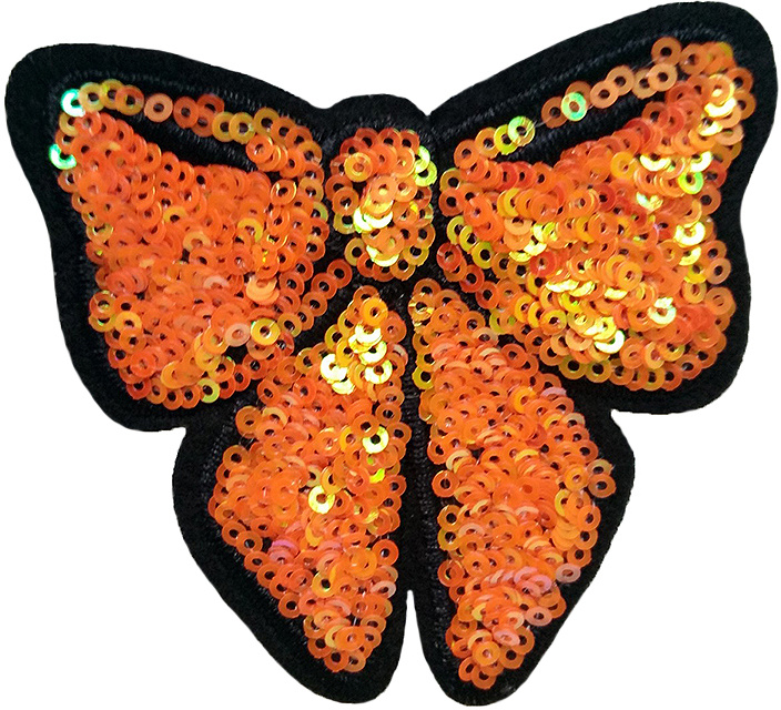 ORANGE BOW PATCH