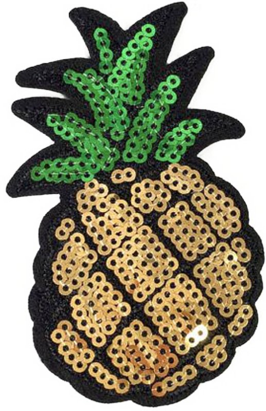 PINEAPPLE SEQUINS PATCH