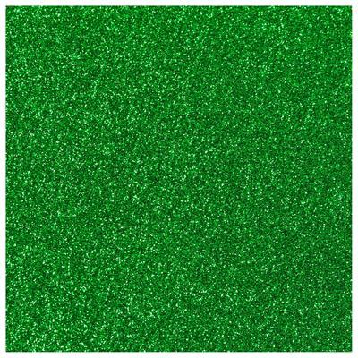 GRAS GROEN GLITTER FLEXFOLIE A4 VEL