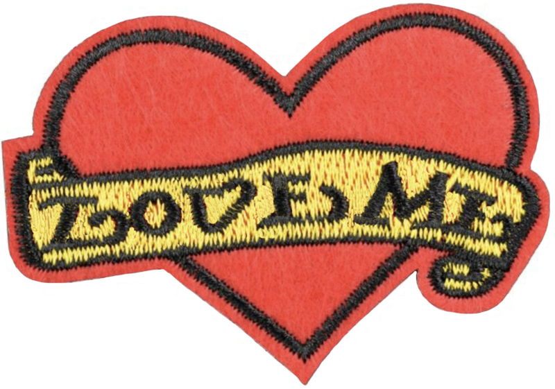 LOVE ME HEART PATCH