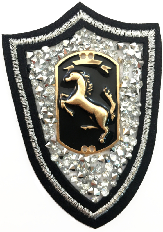 HORSE RHINESTONE PATCH
