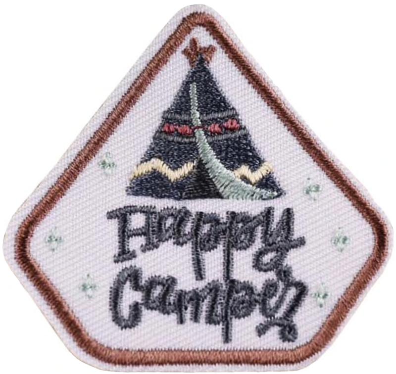 HAPPY CAMPER PATCH