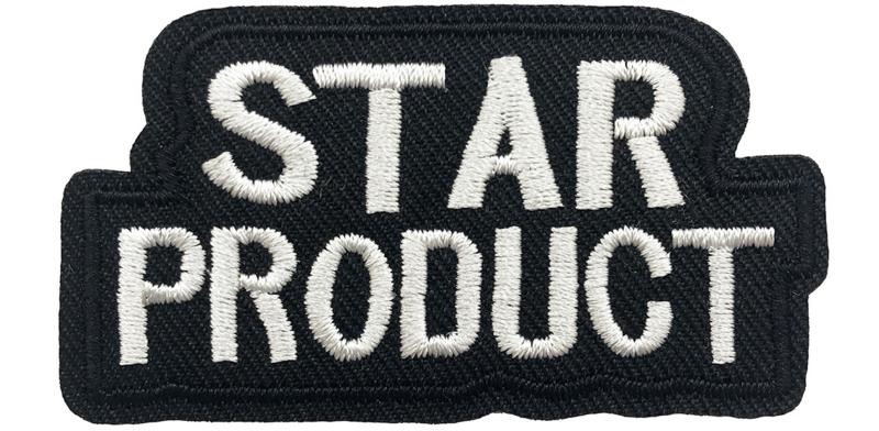 ZWARTE STAR PRODUCT PATCH