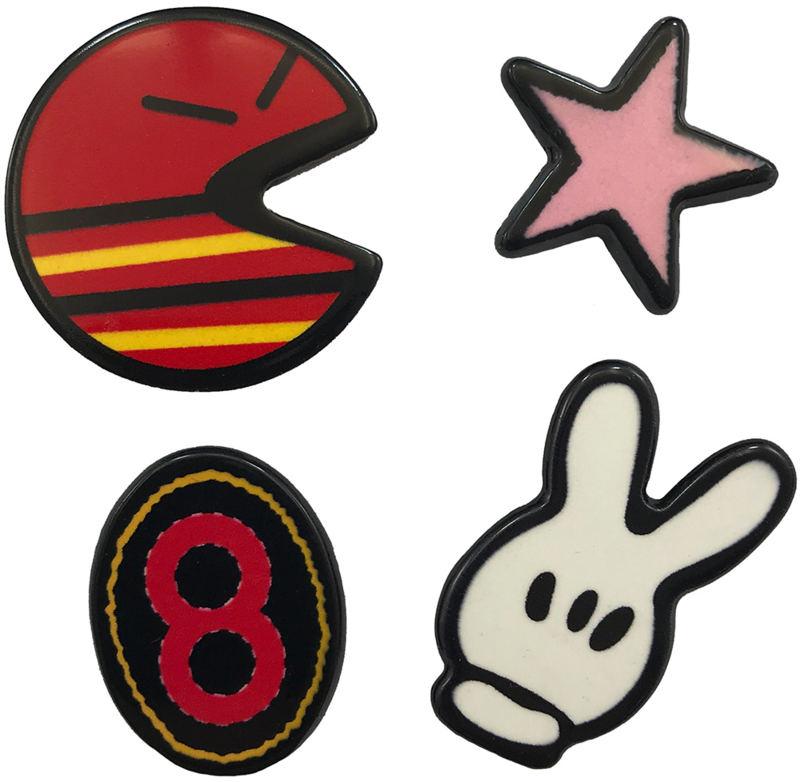 ACHT PACMAN STER PIN SET