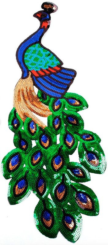 PEACOCK XXL PATCH