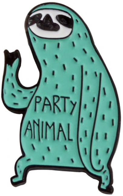 PARTY ANIMAL PIN