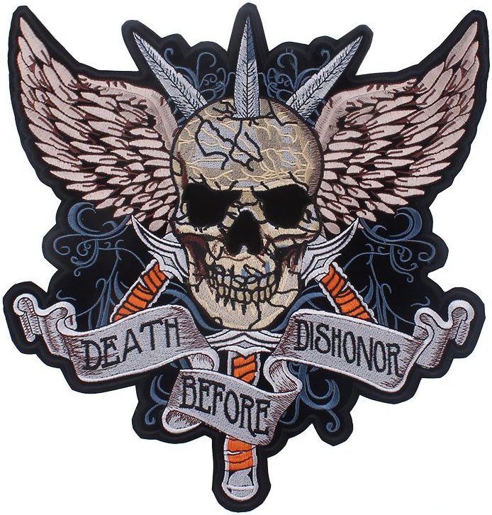 DEATH BEFORE... XXL PATCH
