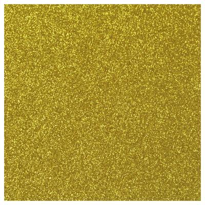 GOLD GLITZER FLEXFOLIE A4 BLATT