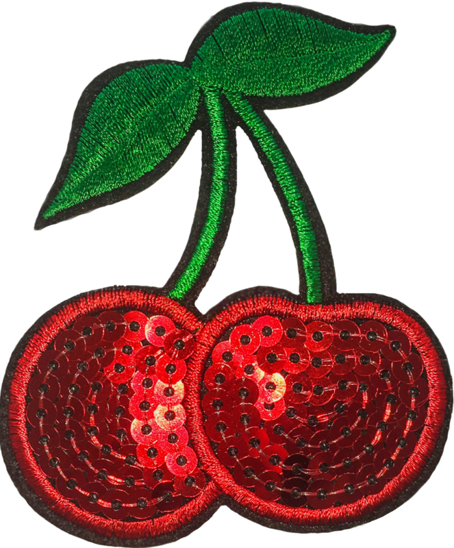 CHERRIES RED PATCH