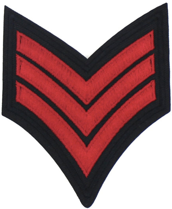 EMBLEM RED PATCH